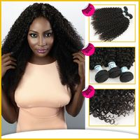 Hot Sale For Black Girl afro kinky hair extensions, Hair Extensions