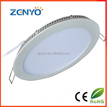 golble hot sell 63pcs/2835 led round panel light