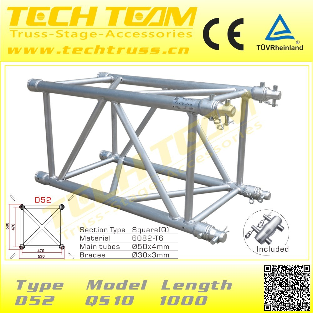 389mm Event Aluminum Spigot Flat Truss
