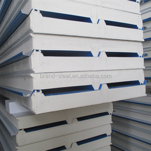 High strength polyurethane composite sandwich panels with tight connection