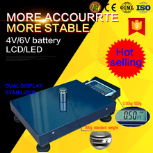 Wireless platform 400kg weighing scales