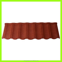 Environment friendly and green building material/color sand coated steel roof tile/stone coated metal roofing sheet