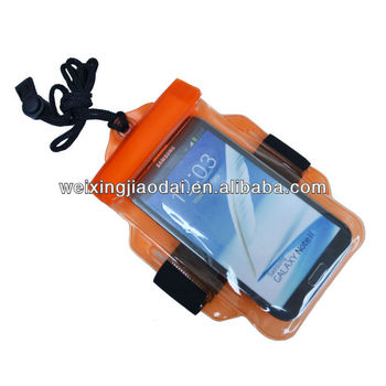 For swimming cute plastic mobile phone waterproof hot sale bag for iphone 4/4s