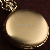 WP114 factory price Wholesale polished custom vintage quartz antique pocket watch