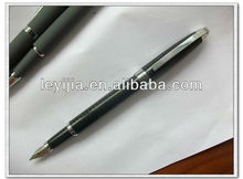 black metal fountain pen LY131