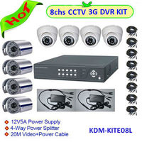 hot selling products!!!Outdoor/Indoor security cctv infrared DVR camera for 8ch H.264 dvr system kit