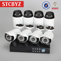 New arrival office economical 1080p camera 8ch cctv dvr kit
