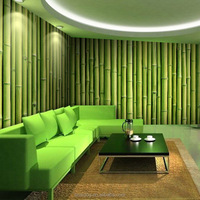 Bamboo Design 3D model Wall Murals Wallpapers for Hotel or Room Decor