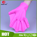 Popular Swimming Fins Custom Silicone Aquatic Gloves