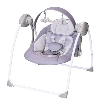 Electric baby swing cribs