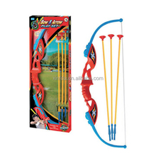 High quality hot sale deluxe kids plastic bow and arrow archery play game set