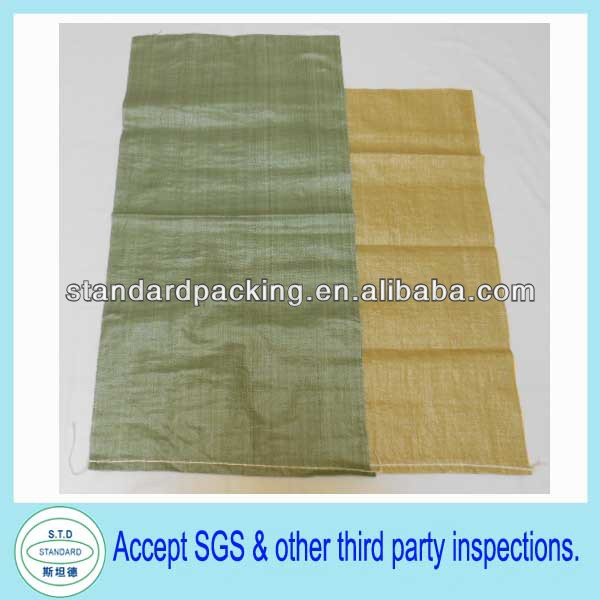 building materials bag pp woven sand packing bag