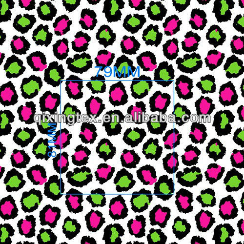 stretch lycra swimsuit fabric/warp knittting printed swimming fabric