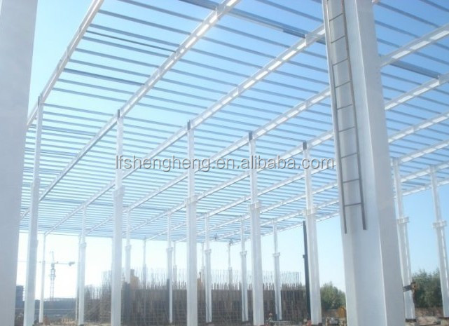 FRP clear corrugated roof sheet