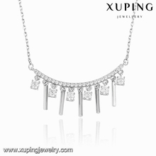 00121 XUPING fashion diffuser european style tassel necklace