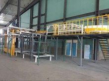 Automatic bagging and stacking machine