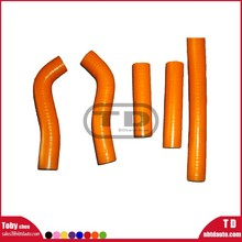 motorcycle silicone hose Kit KTM VV250SXF 06 radiator pipe