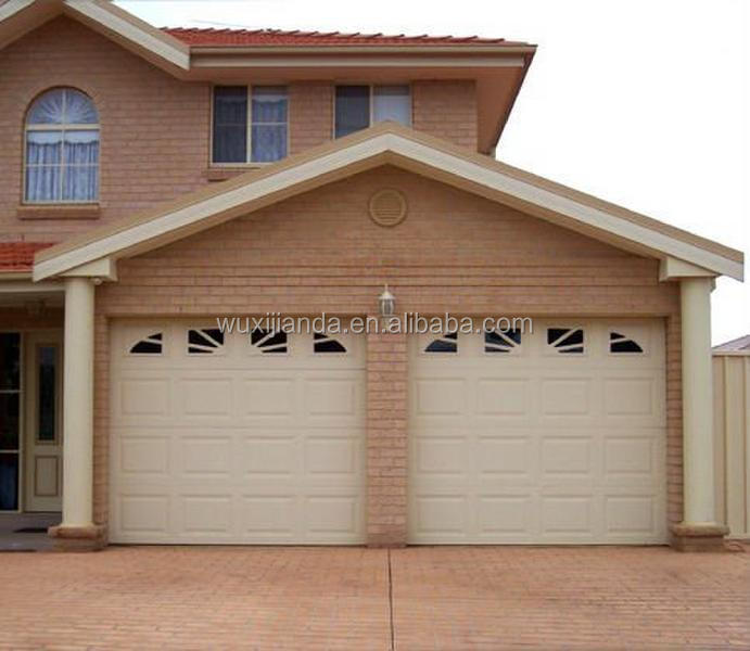 Double patent garage side doors buy garage door Garage with doors on both sides