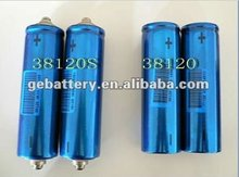 3.2V 10Ah 38120S Cylindrical Rechargeable Lifepo4 Li-ion Battery Cell for EV UPS E-bike E-scooter energy storage