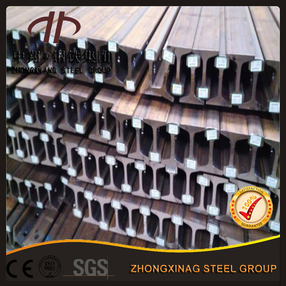 Hot rolled u71mn 50Mn 38kg p38 heavy steel rail for mine car