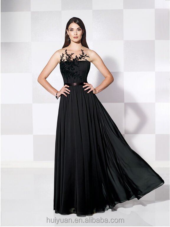 Chiffon Sweetheart Neckline Women Evening Dress For Fat Women