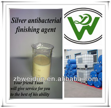 Environmental chemical textile nano silver antibacterial finishing agent suit for Close-fitting fabric