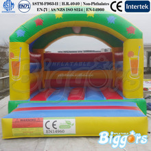 Lead Free Strongest Vinyl Small Inflatable Bouncer With Roof