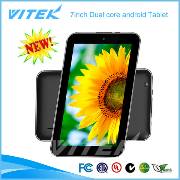 "Alibaba china dual core wifi 7""andorid tablet"