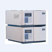 Laboratory HPLC machine with pump detector and column