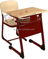 School furniture student single table and seat,Single Desk and Chair,School Furniture
