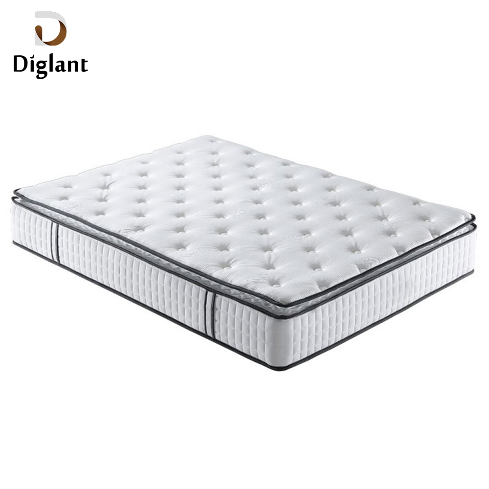 DM004 Diglant Gel Memory Latest Double Fabric Foldable King Size Bed Pocket massage mattress - Jozy Mattress | Jozy.net