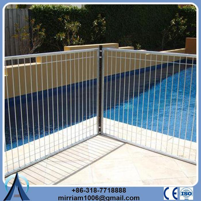 High quality hot dip galvanized portable pool fence safety
