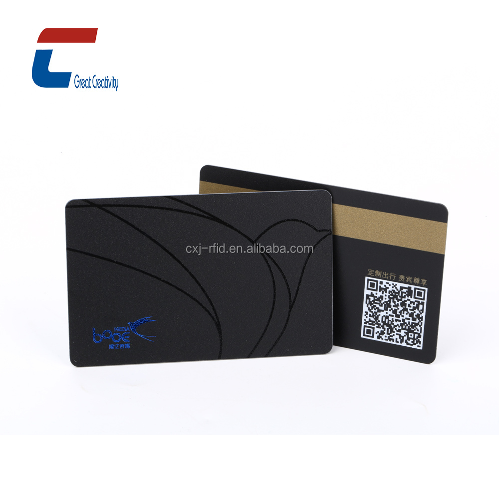 Hico magnetic cards stripe Pvc cards custom designs Smart Cards