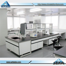 science laboratory furniture/used school furniture chemistry lab furniture/C frame steel wood lab work bench