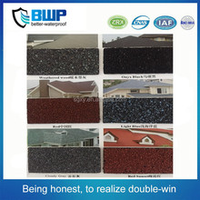 cheap price waterproof roofing material fish scale colorful asphalt shingle exporter