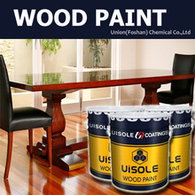 High gloss polyurethane varnish for wooden furniture