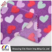 New Arrival antistatic 100 polyester two side brushed one side anti pilling DTY polar fleece fabric for wholesale