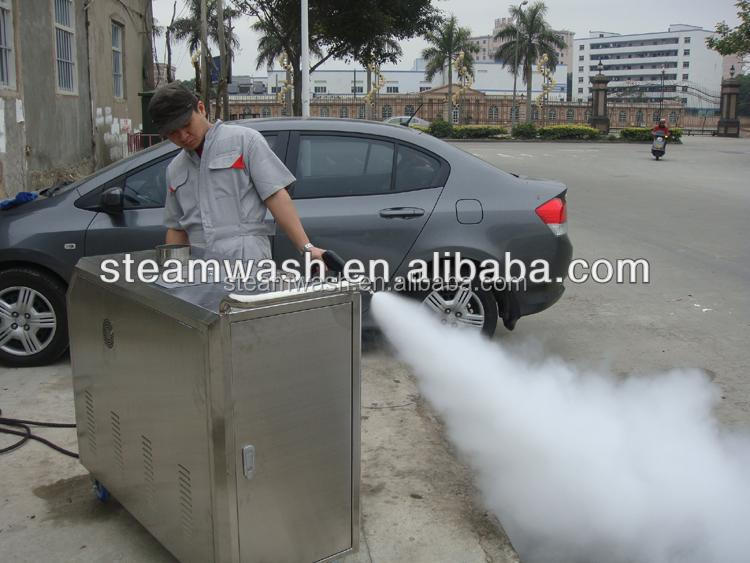 LPG gas mobile steam car cleaner / steam jet