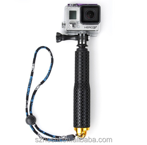 19inch pole handheld selfie stick gopro monopod tripod sj4000 for go pro hero4 hero3 3 sj 4000. Black Bedroom Furniture Sets. Home Design Ideas