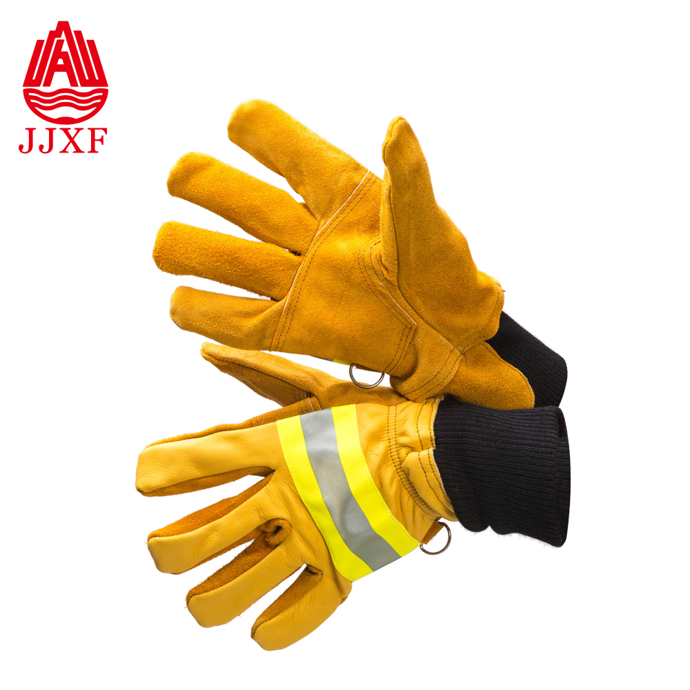 Welding double palm safety cow split leather working <strong>gloves</strong> from factory