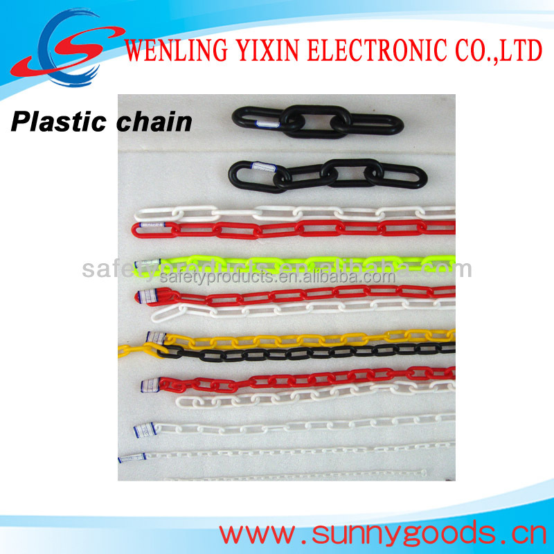 2mm colorful Plastic chain