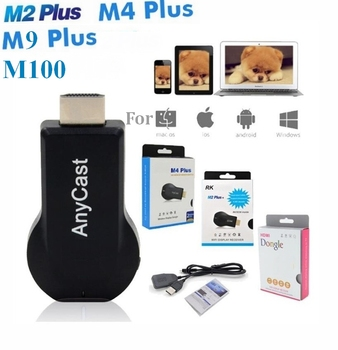 M2 M4 M9 Plus M100 Anycast ezcast miracast Air Play hdmi TV stick wifi Display Receive dongle For ios andriod