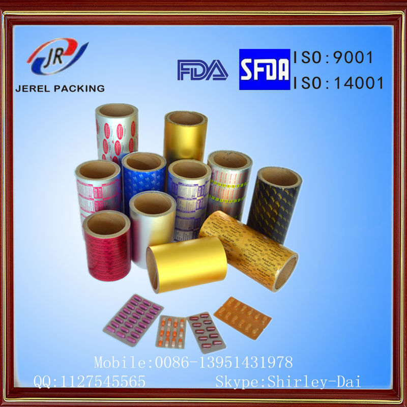HSL and OP Coating for Medical Packaging Blister Aluminum Foil