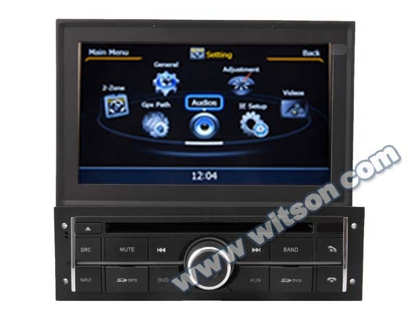 WITSON AUTO RADIO <strong>DVD</strong> MITSUBISHI <strong>L200</strong> 2010-2012 WITH A8 CHIPSET DUAL CORE 1080P V-20 DISC