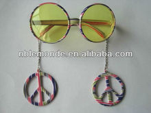 Hot Sale Fashion Custom Peace Sign Sunglasses For Party