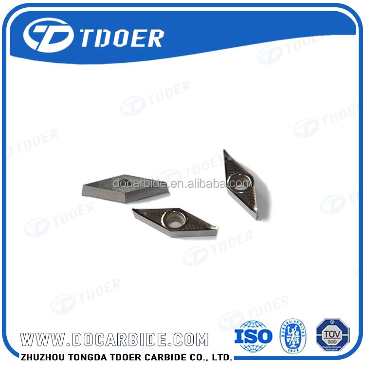 Indexable Carbide Turning Inserts For Aluminum Alloy