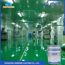 AB-DP-300Z sports playground anti scratch tough epoxy intermediate floor coatings