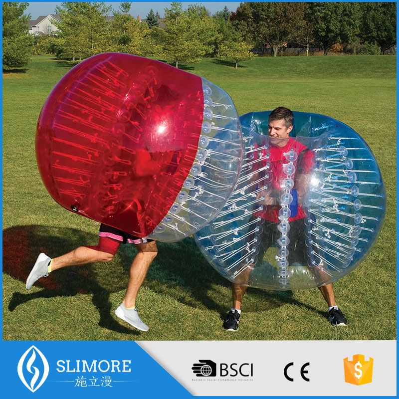 TPU/PVC bubble football human bumper ball for sale bubble ball suit