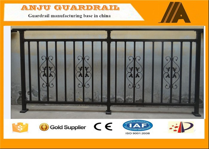 Competitive price new design of decorative steel deck railings made in china YT010