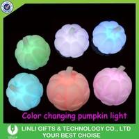 Led Pumpkin Toy For Halloween Gift, Flashing Pumpkin, Light Up Pumpkin